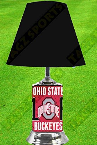 OHIO STATE BUCKEYES NCAA LAMP - BY TAGZ SPORTS - FREE - Lamp State Ohio Desk