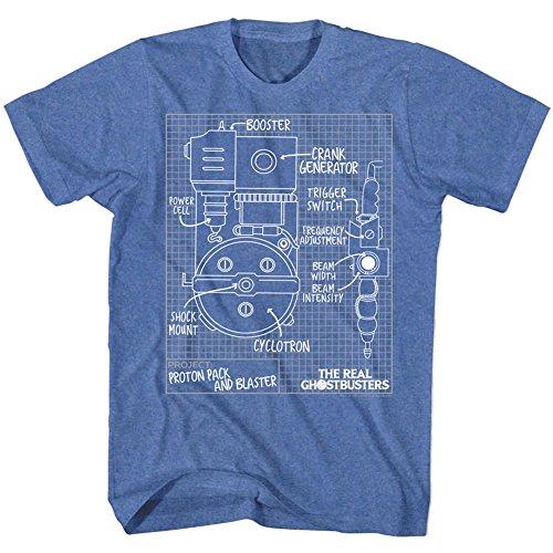 Pour Classics shirt Ghostbusters Homme Imprime Vrais American Tee Rétro dUCw4qHX0x
