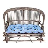 College Covers North Carolina Tar Heels Settee Cushion, Blue