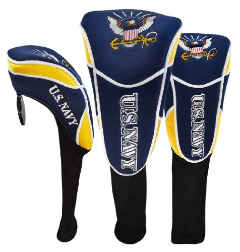 Hot-Z Golf US Military Navy Headcover Set
