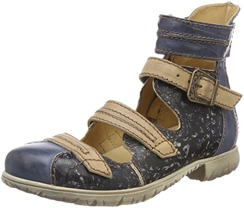 Beige Rovers Azul para Jeans Botines Jeans Mujer Blau aqP4aBw