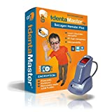 IdentaMaster Biometric Security Bundle with SecuGen Hamster Plus-HSDU03P - Encryption, PC Login for Windows 7/8/10
