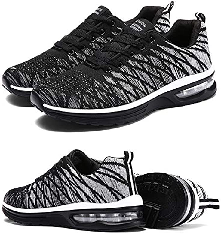 Zapatillas De Baloncesto Hombre Transpirables Casual Sneaker Trend ...