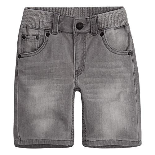 Levi's Boys' Little Slim Fit Soft Knit Shorts, Cliffside, 5 ()