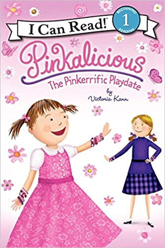 pinkalicious the pinkerrific playdate i can read level 1