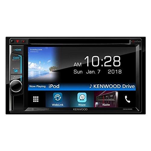 Kenwood DDX595 6.2in DVD Receiver with Bluetooth (Renewed) (Kenwood Excelon 15)