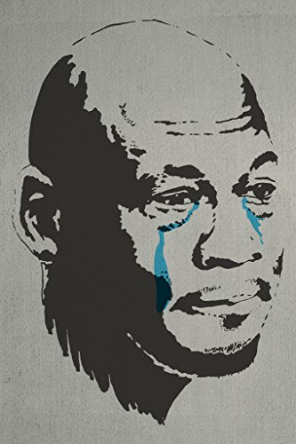 Crying MJ Crying Meme Funny Poster 12x18 inch -