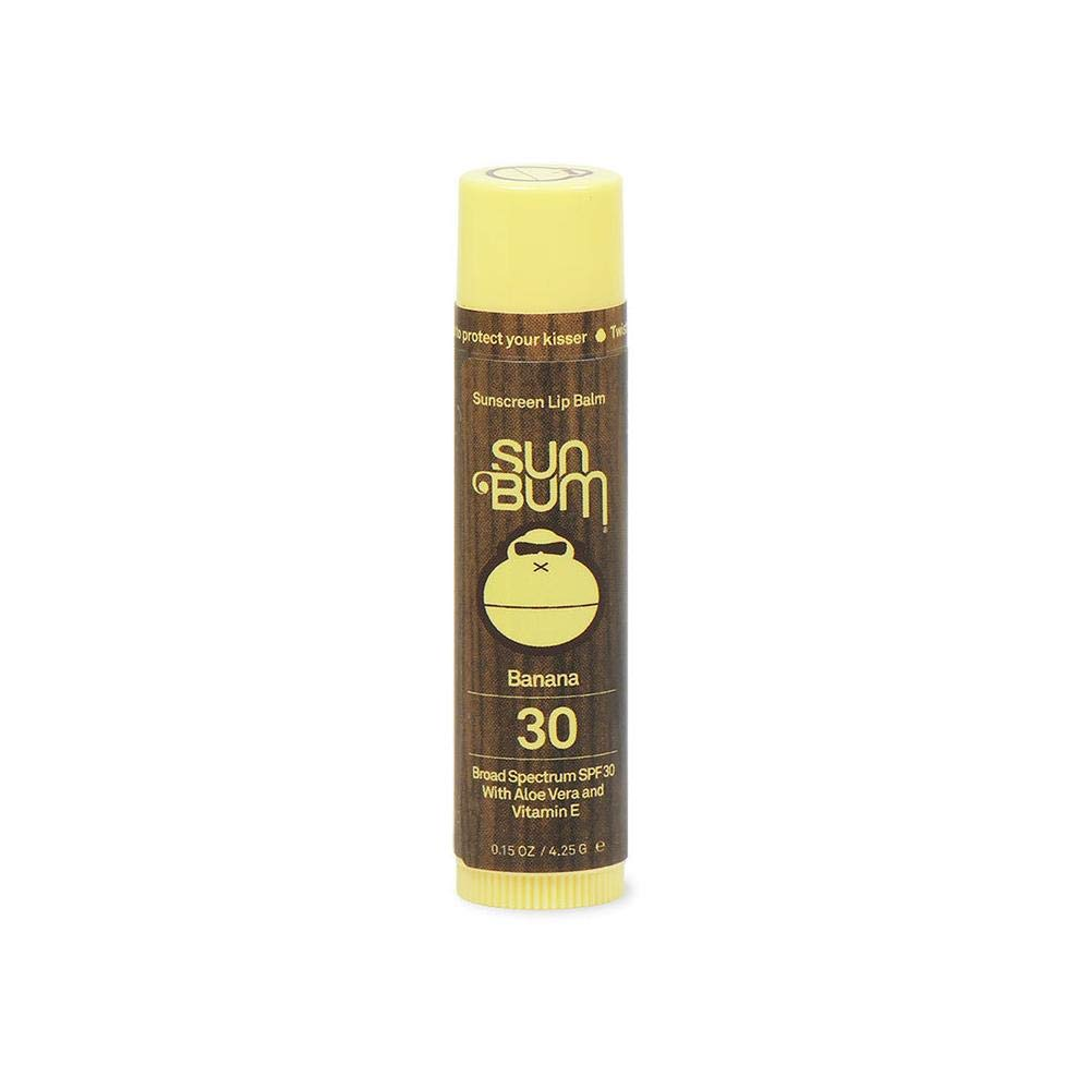 SPF 30 Lip Balm Banana, 3 Pack by Sun Bum
