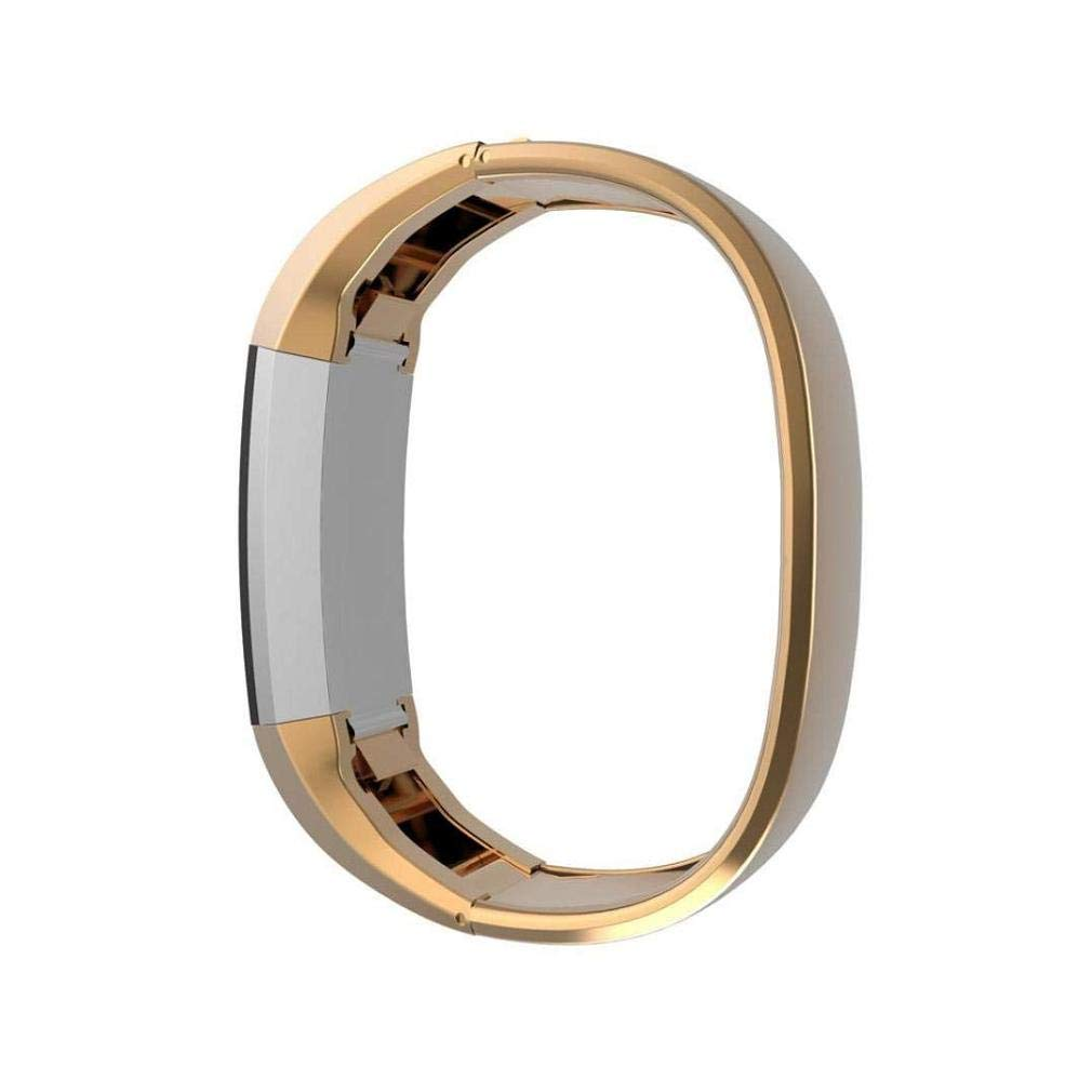 Fashion Clearance! Noopvan Fitbit Alta Band Metal,Adjustable Stainless Steel Replacement Bracelet Wristband Strap for Fitbit Alta Smart Watch (Gold)