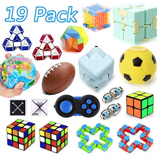 25 Pack Sensory Fidget Toys Set, Party Favor Christmas Toy...