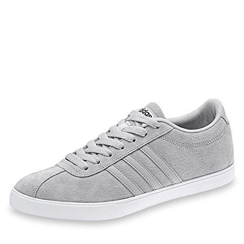 Negbas W Courtset Sneaker Donna adidas Grigio Gridos Gridos q0B8dyw5x