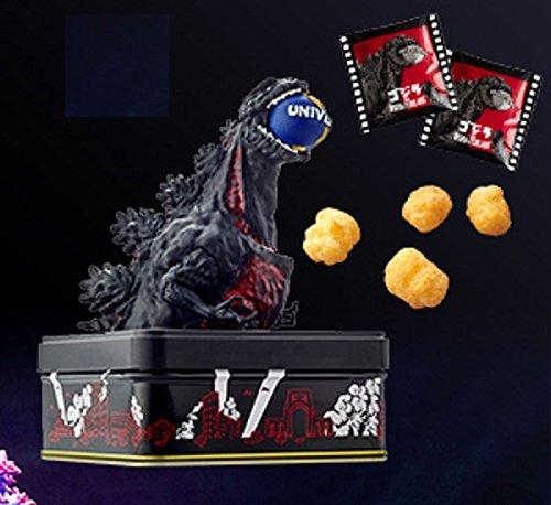 ユニバーサルスタジオジャパン限定 シンゴジラ スナックフィギュア缶 B01N9REQCR