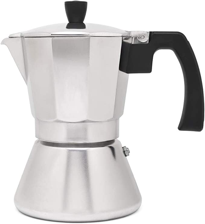 Cafetera espresso 6 tazas TIVOLI-inox (Induccion): Amazon.es: Hogar