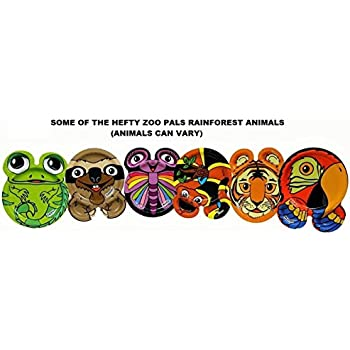 Hefty Zoo Pals Rainforest Plates-1 package of 20 Plates- 7.37 inch (Discontinued  sc 1 st  Amazon.com & Hefty Zoo Pals Rainforest Plates-1 package of 20 Plates- 7.37 inch (Discontinued by Manufacturer)-Animals Can Vary