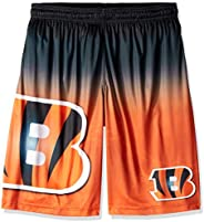 NFL Cincinnati Bengals Football Team Logo Gradient Big Logo Training Shorts, Team Color, X-Large