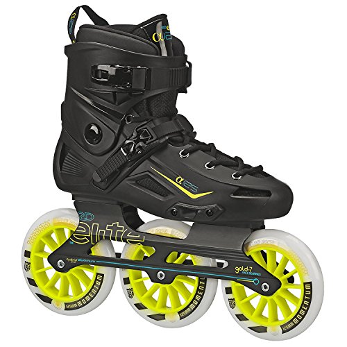 Alpha 125mm 3-wheel Inline Skate (7) (3 Wheel Skates)