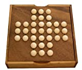 EXP Handmade Peg Jumping Solitaire Travel Game (Thailand)