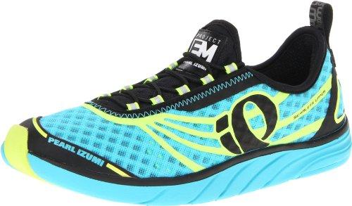 Pearl Izumi Mujeres W Em Tri N 1 Zapatillas De Running Scuba Blue / Screaming Yellow