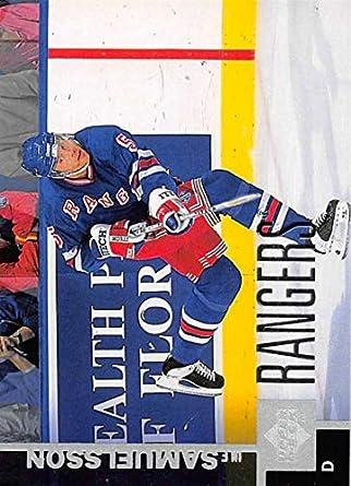 1997-98 Upper Deck Hockey Card  313 Ulf Samuelsson New York Rangers  Official NHL 4d8075ec5