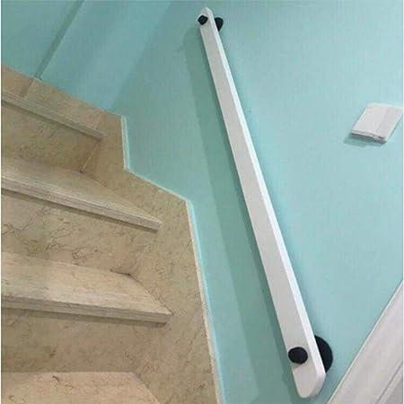 Pasamanos de escaleras, pasamanos de la escalera interior retro blanco sólido pasamanos de la escalera de madera, 1 pie-20 pies pasamanos de la escalera tubería, adecuados for uso en interiores de hot: