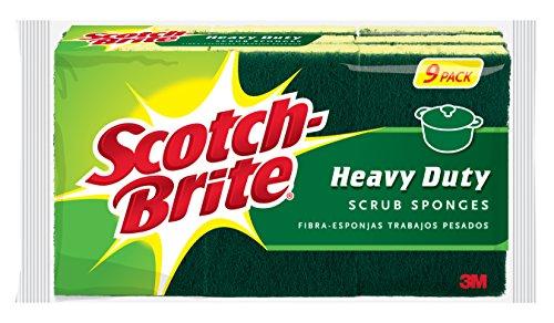 Scotch-Brite Heavy Duty Scrub Sponge, (Scotch Brite Sponges)