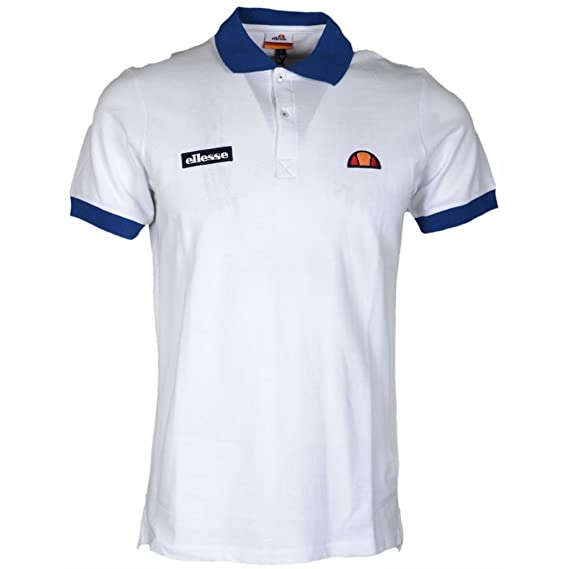 Ellesse - Polo - para Hombre Blanco Blanco XX-Large: Amazon.es ...