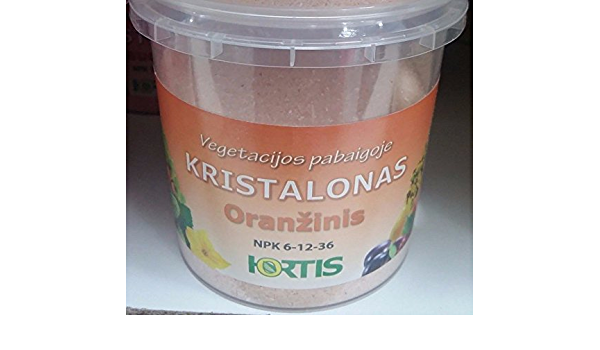 Kristalon Orange 300 G végétation fin Engrais NPK 6-12-36 micro augmenter