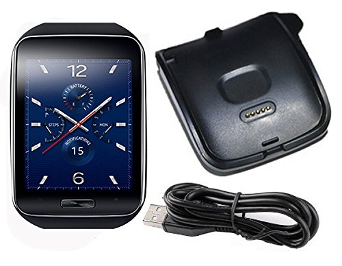 Lowpricenice Galaxy Gear S Charger - Charger Charging Cradle Dock for  Samsung Galaxy Gear S R750 Smart Watch (Galaxy Gear S)