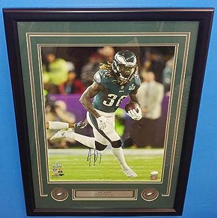 Eagles Super Bowl 52 Jay Ajayi Autographed 16