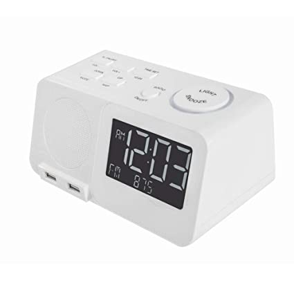 Factory Direct Selling Digital Alarm Clock with FM Radio, Snooze Function