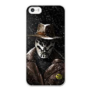 Custom made Case,Watchmen Cell Phone Case for iPhone 5 5S SE,White Case With Screen Protector (Tempered Glass) Free S-7271297