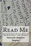 Read Me, Verandah Shepard, 1475011962