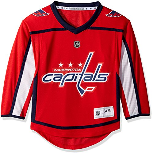 NHL Washington Capitals Team Color Home Premier Jersey Youth… – DiZiSports Store