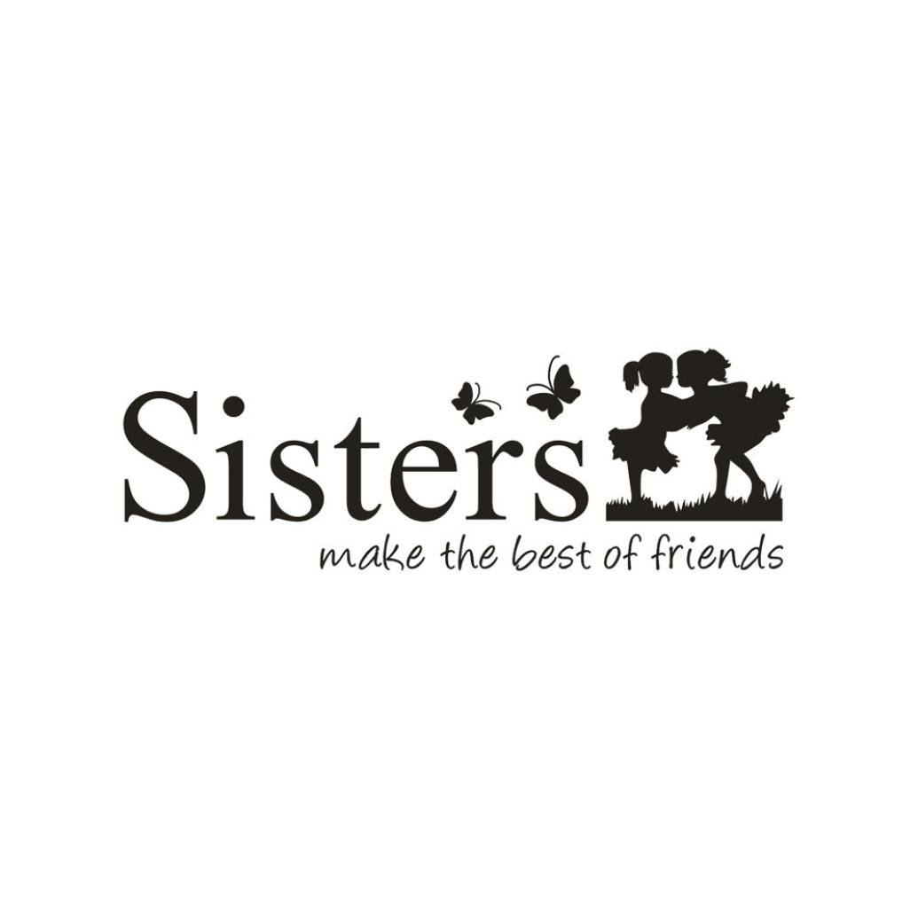 Amazon.com: dainzuy 3d hermana y hermano extraíble papel ...