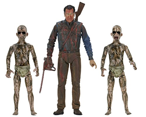 NECA Bloody Ash vs Demon Spawn Action Figure (3 Pack), 7