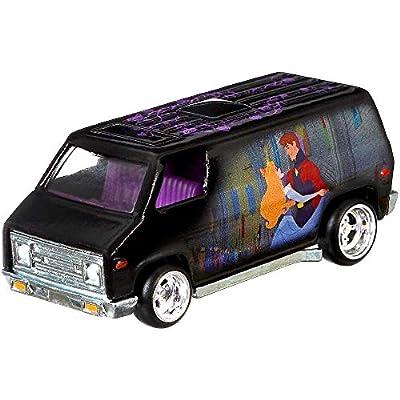 HW Pop Culture Sleeping Beauty Super Van Hot Wheels Disney Character Cars Diecast Car 1:64 Scale: Toys & Games