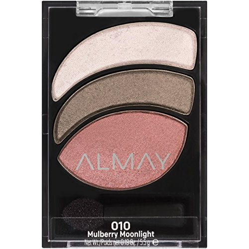 ALMAY Smoky Eye Trios, Mulberry Moonlight, 1.4 Ounce