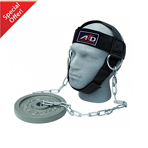 Head Harness Neck - ARD Head Harness Neck Strength Head Strap Weight Lifting Exercise Fitness Belt
