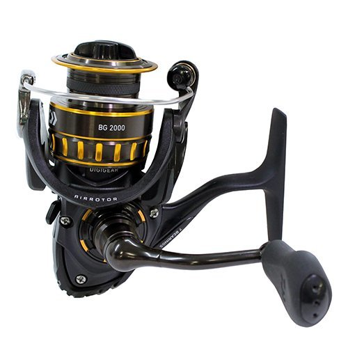 - Daiwa 0001-4131 BG2500 Black Gold (BG) (1 Unit)