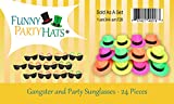 Funny Party Hats Neon Party Supplies - Fedora Party
