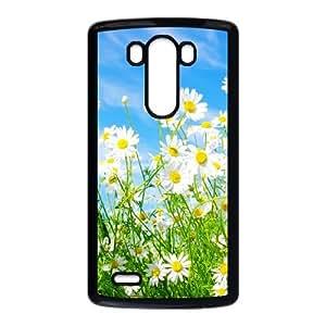 Daisy Flower LG G3 Cell Phone Case Black DIY Gift zhm004_0459687