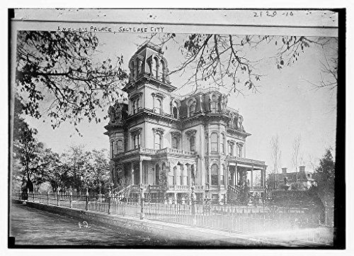 8 x 10 Vintage Photo of: Amelia's Palace Salt Lake City