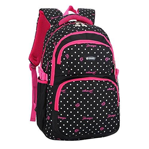 Fashion Bag Backpack Kids Baby Bag black by SHUBAO