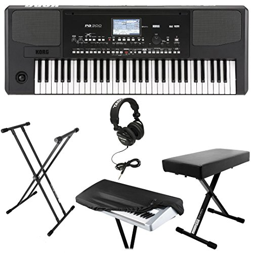 Best Keyboard Workstation Under 500 : korg pa300 61 key arranger workstation kit with knox large keyboard bench knox double x keyboard ~ Vivirlamusica.com Haus und Dekorationen