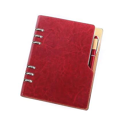 Lvcky A5 à anneaux ronds poches Journal Agenda organiseur ...