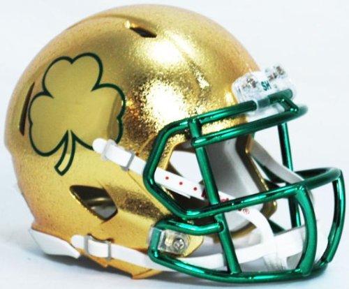 Notre Dame Fighting Irish NCAA Mini SPEED Helmet by Riddell - SHAMROCK