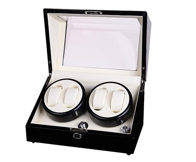 Mira enrollador/Sacudiendo Caja de Reloj/Caja de Reloj mecánico/Reloj automático Caja de Motor / 5 Tipos de procedimientos de rotación/Producción Artesanal: ...
