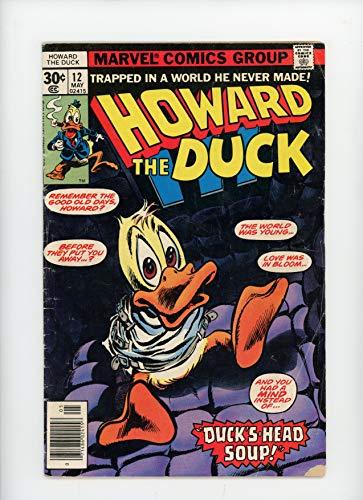 HOWARD THE DUCK #12   Marvel   May 1977   Vol 1   Kiss Cameo