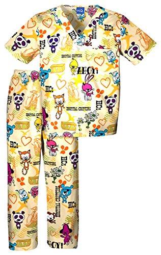Scrub HQ 4620C Kid's Scrub Set HCz Ahoy Large (Sailor Outfits For Men)