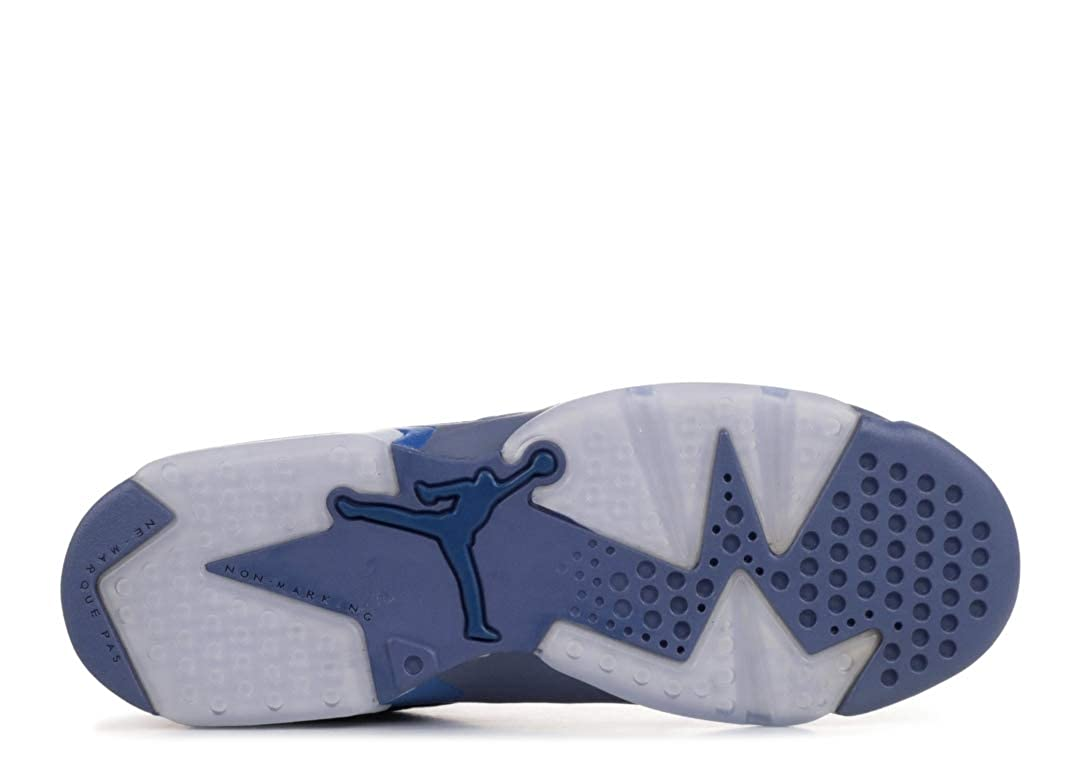 43e5407406a26 Amazon.com: Air Jordan 6 Retro (Gs) 'Diffused Blue' - 384665-400 ...